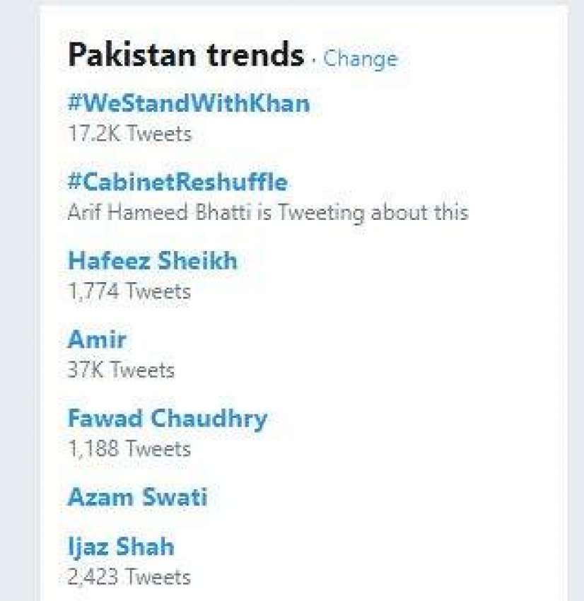 ہیش ٹیگ وی سٹینڈ ود عمران خان
