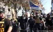 واشنگٹن میں ٹرمپ کے حامیوں کا مظاہرہ اور جھڑپیں