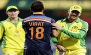 آسٹریلیا کے خلاف میچ میں ضابطے کی خلاف ورزی، بھارتی کھلاڑیوں پر جرمانہ