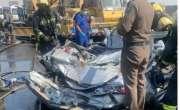 سعودی عرب میں واٹر ٹینکر گاڑیوں پر اُلٹ گیا، 2 افراد جاں بحق