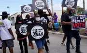 امریکا میں سیاہ فام کا قتل، فلاڈیلیفیا میں مظاہرے روکنے کیلئے رات کا ..