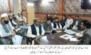 ایڈیشنل دپٹی کمشنر ضلع خیبرکے شلوبر قومی کونسل کے ساتھ کامیاب مذاکرات