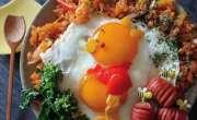 فرائی انڈوں سے مزیدار فن پارے  بنانے والی جاپانی ماں