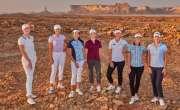 سعودی عرب میں پہلی بار خواتین کے دو بین الاقومی گالف ٹورنامنٹس کھیلے ..