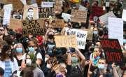 امریکا ، سیاہ فام جارج فلائیڈ کی ہلاکت کے خلاف مظاہرے جاری