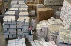 سعودی عرب میں گودام پر چھاپہ، 43لاکھ طبی ماسک برآمد