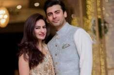 فواد خان کی اپنی اہلیہ کے ساتھ تصاویروائرل
