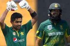 Hashim Amla is also credited with the capabilities of Babar Azam Babar may still be young, fluctuating in his career, but ..