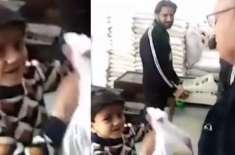 صدر مملکت ڈاکٹر عارف علوی سے بچے کی معصومانہ فرمائش