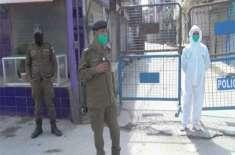سمن آباد کی سکندریہ کالونی کے ایک ہی گھر کے 9 افراد میں کورونا وائرس ..