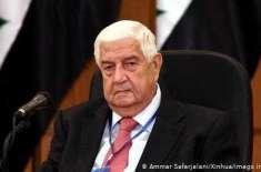 شام کے وزیر خارجہ ولید المعلم اانتقال کر گئے