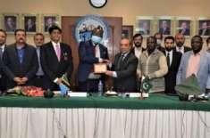 تنزانیہ اور پاکستان کے درمیان تجارتی اور معاشی تعلقات کو بہتر بنایا ..