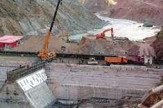 مہمند اور بھاشا ڈیموں کی تعمیر کی تکمیل کی ممکنہ تاریخ بتا دی گئی