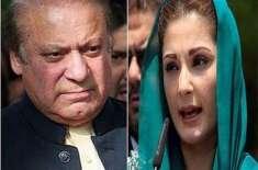 ریاست کے خلاف اکسانے کا الزام'لاہور میں نوازشریف اور مریم نوازکے خلاف ..