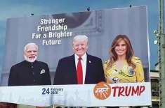امریکی صدر دورہ بھارت کے دوران مسئلہ کشمیر پر بات کر سکتے ہیں۔ وائٹ ..
