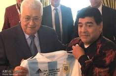 میں دل سے فلسطینی ہوں: میراڈونا کی پرانی ویڈیو وائرل
