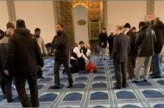 لندن کی مسجد پر نامعلوم شخص کی جانب سے حملہ