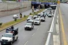 یو اے ای قونصلر جنرل کی گاڑی کو اوور اسپیڈ کرنے پر موٹروے پولیس کا چالان