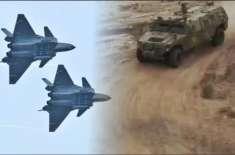 چین نے بھاری ہتھیار اور لڑاکا طیارے بھارتی سرحد پر پہنچا دئیے
