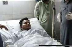 کراچی طیارہ حادثہ میں بچ جانے والے دو مسافروں میں سے محمد زبیر کو ہسپتال ..