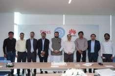 پاکستان میں فرسٹ ایس ڈی این پراجیکٹ،نسٹ ہواوے کیساتھ شراکت دار