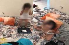 سعودی عرب میں ننھی بچی پر تشدد کرنے والی سنگدل ماں گرفتار کر لی گئی