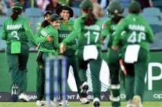 ویمنز ٹی ٹونٹی ورلڈکپ' پاکستان اور تھائی لینڈ کے مابین میچ بغیر کسی ..