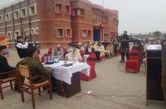 آئی جی پنجاب پولیس انعام غنی کے احکامات کی روشنی میں ضلع جہلم میں کمیونٹی ..