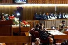 ترک صدر کی پاکستانی پارلیمنٹ میں کھڑے ہو کر ٹرمپ اور مودی کو للکار