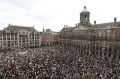 امریکہ میں سیاہ فام شہری کے قتل کے خلاف دنیا بھر میں مظاہرے