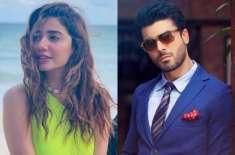 فواد خان اور ماہرہ خان کی فلم ''نیلوفر'' کی عکس بندی شروع