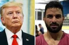 ڈونلڈ ٹرمپ ایرانی ریسلر نوید افکاری کو سزائے موت سے بچانے کیلئے میدان ..