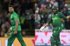 محمد عامر اور حارث سہیل کی دورہ انگلینڈ کیلئے دستیابی سے معذرت
