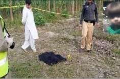 زینب قتل کیس، چارسدہ پولیس نے مرکزی ملزم کو میڈیا کے سامنے پیش کردیا