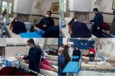 ڈپٹی کمشنر جہلم کا ڈسٹرکٹ ہیڈ کواٹرز ہسپتال جہلم کا دورہ،عید کے موقع ..