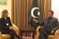 وزیر اعظم عمران خان کی یوٹیوب سربراہ اور ٹیکنالوجی کمپنیوں کے اعلی ..