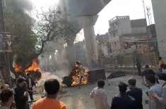 نئی دہلی، متنازع شہریت قانون کے خلاف احتجاج اور ہنگامے،