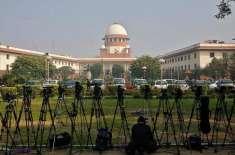 بھارتی سپریم کورٹ نے شہریت قانون پر عملدرآمد روکنے کا مطالبہ مسترد ..