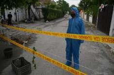 کورونا وائرس کے کیسز کے باعث  اسلام آباد کے مختلف سیکٹرز کی گلیوں  میں ..