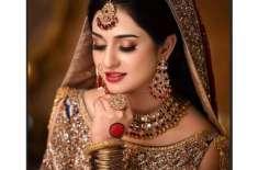 سارہ خان کا نیا برائیڈل فوٹو شوٹ مکمل