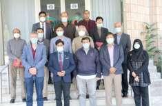 یورپین یونین کے وفد کا ہلالِ احمر کا دورہ، کورونا وباء کے خلاف اقدامات ..