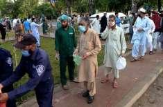 پاکستان کورونا کیسز میں بہتری کے لحاظ سے دنیا میں14ویں نمبر پر آگیا
