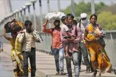 کورونا وائرس کی وجہ سے لاکھوں بھارتیوں نے ہجرت کا فیصلہ کر لیا