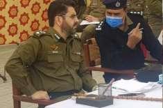 آئی جی پنجاب پولیس کے احکامات پر ڈسٹرکٹ پولیس آفیسر جہلم کی پنڈدادنخان ..