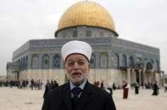 اسرائیل نے مسجد اقصی کے امام و خطیب کو گرفتار کرلیا