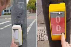 جرمنی میں  ٹریفک لائٹ کے سبز ہونے کا انتظار کرنے والے کس طرح پنگ پونگ ..