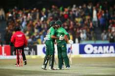 پاکستان اور بنگلہ دیش کے درمیان ٹی ٹونٹی سیریز کا تیسرا اور آخری میچ ..