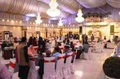 وفاقی حکومت نے مارکیز اور ٹینٹ میں شادیوں کی اجازت دے دی