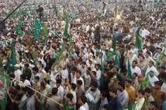 حکومت کی چھٹی کیلئے13دسمبر کوسارا لاہور مینارپاکستان پراکٹھا ہوگا، ..
