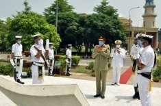 چیئر مین جوائنٹ چیفس آف اسٹاف کمیٹی کا پاکستان نیوی وار کالج کا دورہ
